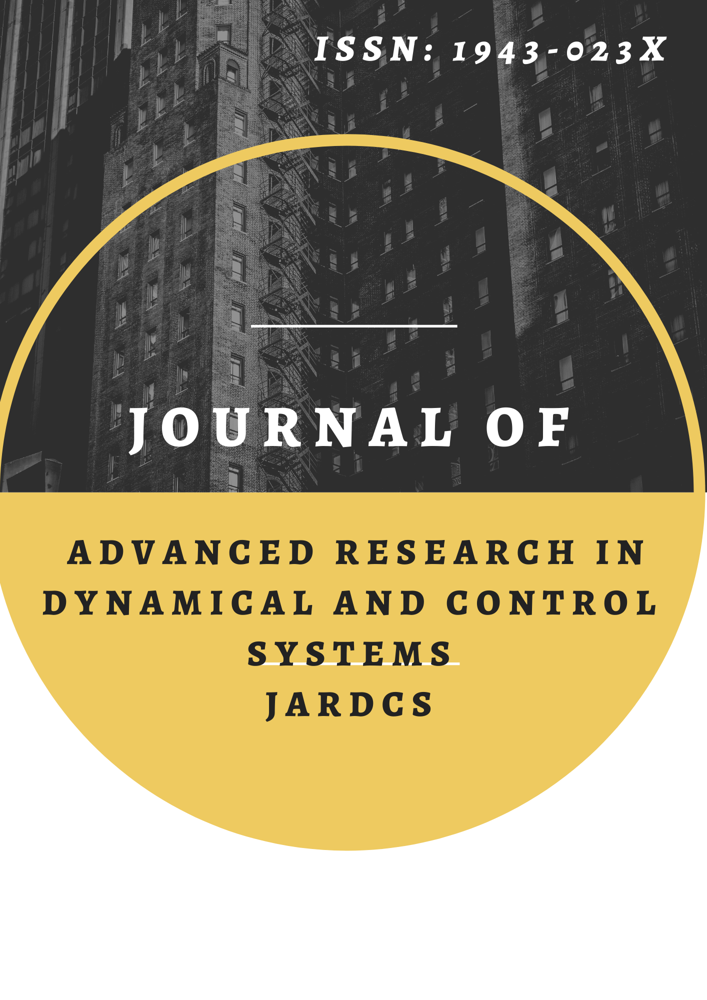 Journal of Advanced Research in Dynamical and Control Systems –JARDCS