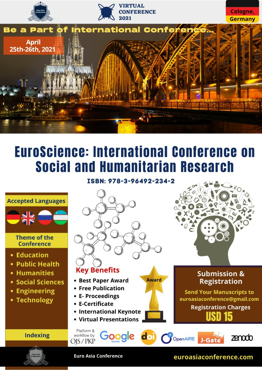 EuroScience:  International Conference on Social and Humanitarian Research