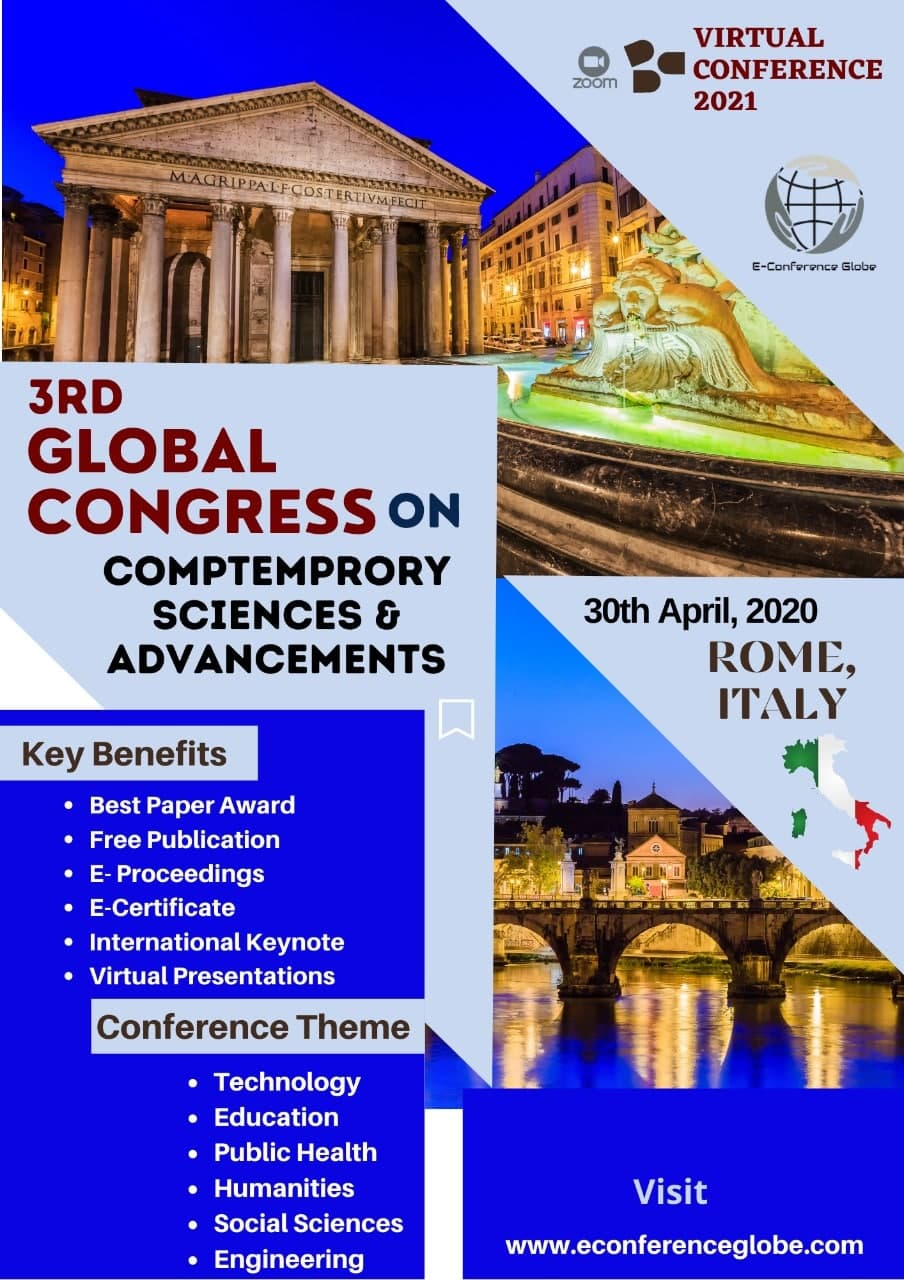 3rd Global Congress on Contemporary Sciences and Advancements