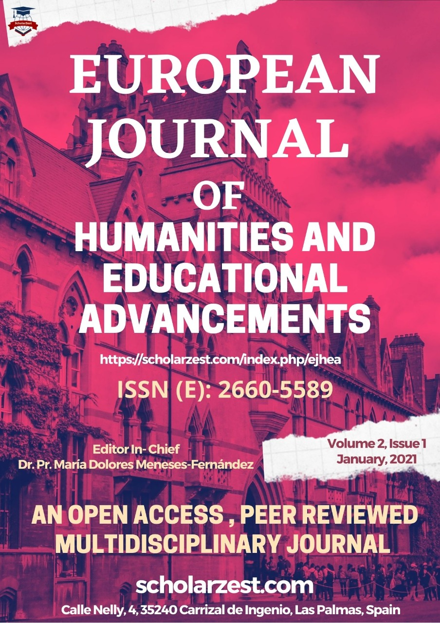 European Journal of Humanities and Educational Advancements (EJHEA)