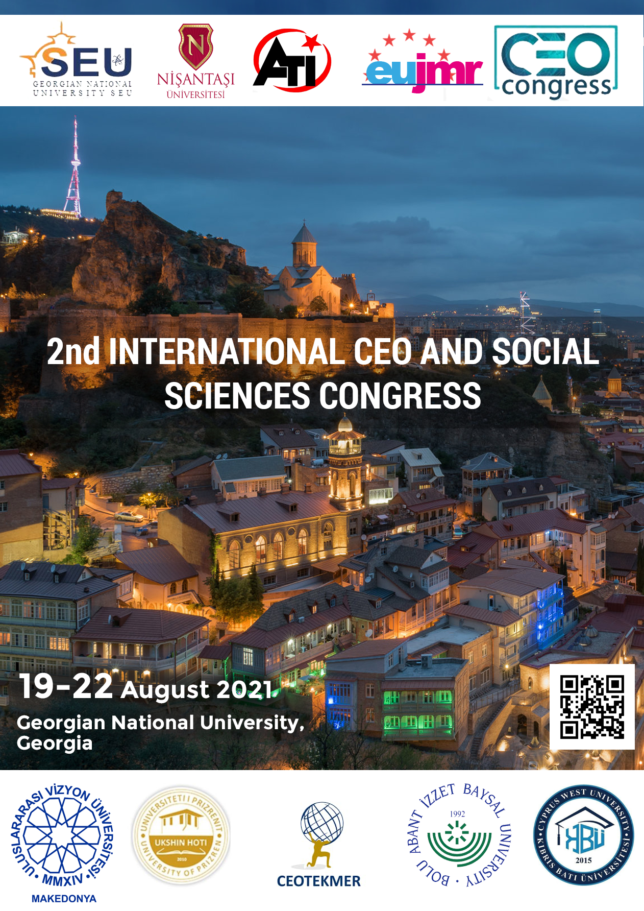 2nd International CEO and Social Sciences Congress (CEOSSC)