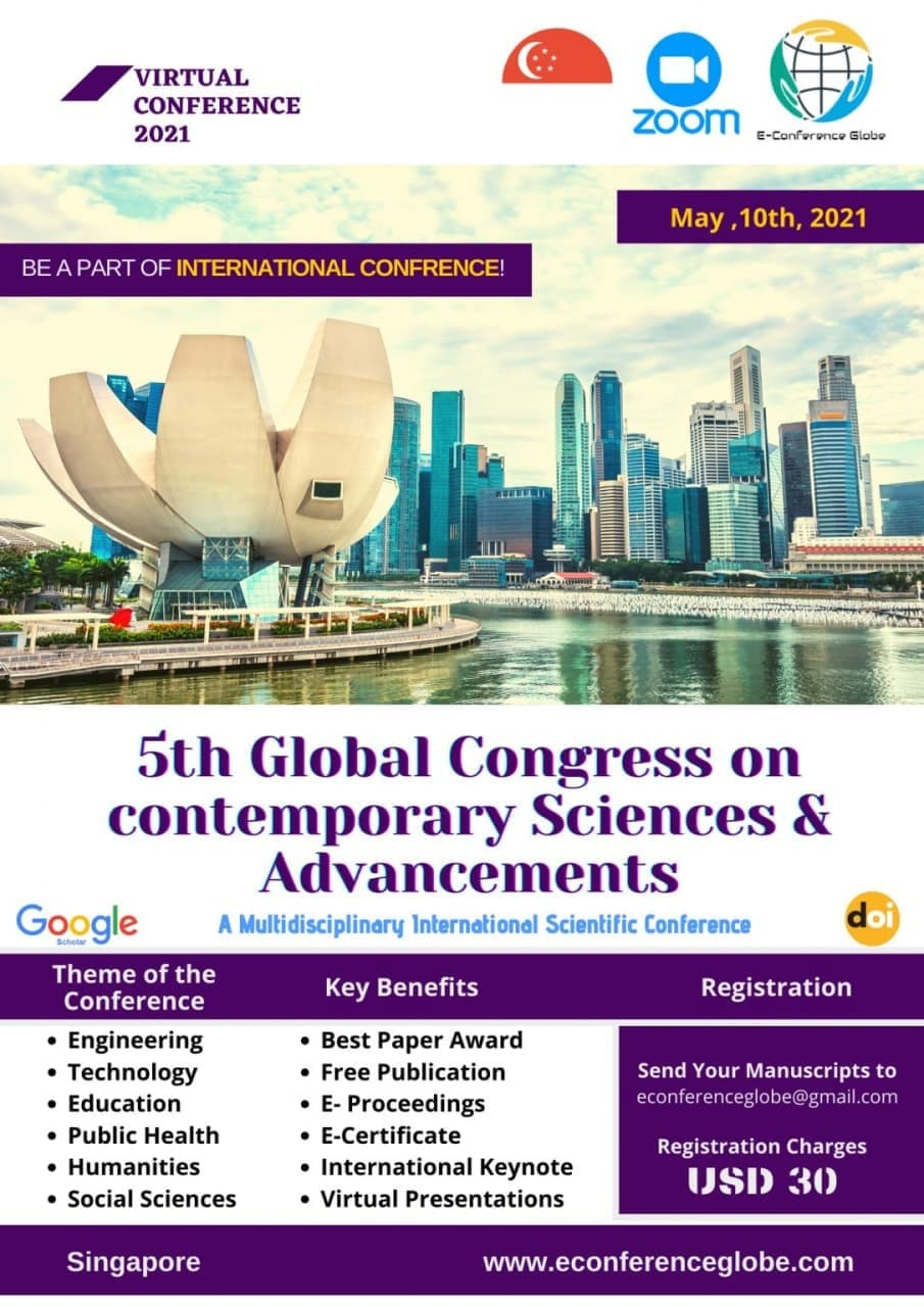 5th Global Congress on Contemporary Sciences and Advancements